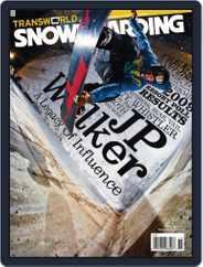 Transworld Snowboarding (Digital) Subscription September 27th, 2008 Issue