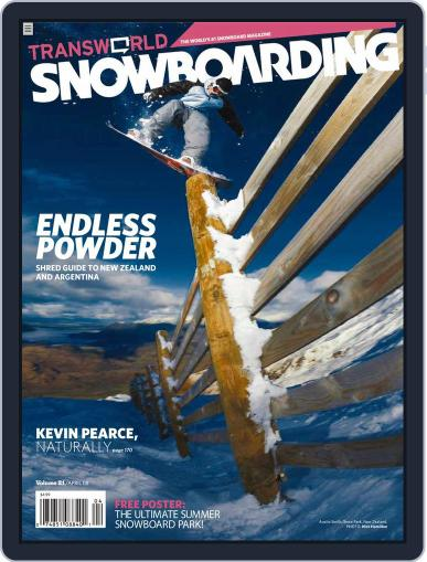 Transworld Snowboarding (Digital) February 23rd, 2008 Issue Cover
