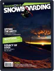 Transworld Snowboarding (Digital) Subscription January 26th, 2008 Issue