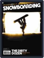 Transworld Snowboarding (Digital) Subscription November 24th, 2007 Issue