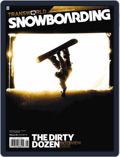 Transworld Snowboarding (Digital) November 24th, 2007 Issue Cover