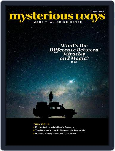 Mysterious Ways April 1st, 2020 Digital Back Issue Cover