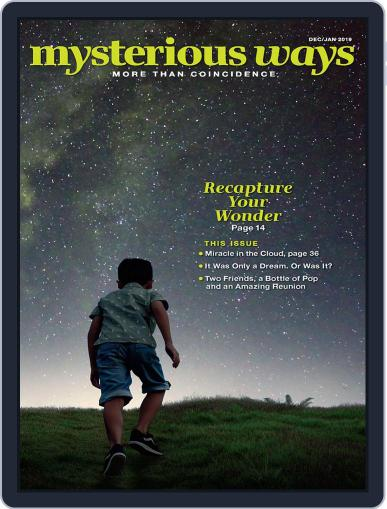 Mysterious Ways December 1st, 2018 Digital Back Issue Cover