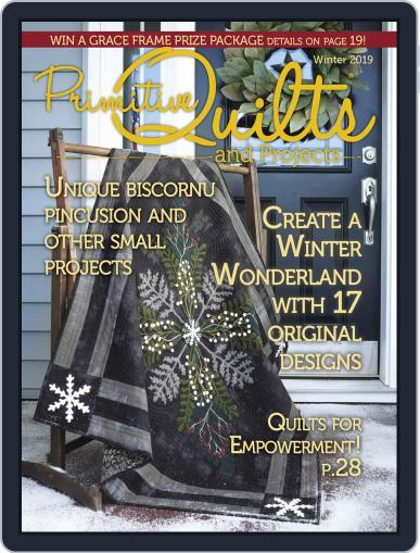 Primitive Quilts And Projects (Digital) September 13th, 2019 Issue Cover