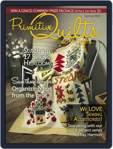 Primitive Quilts And Projects (Digital) December 14th, 2018 Issue Cover