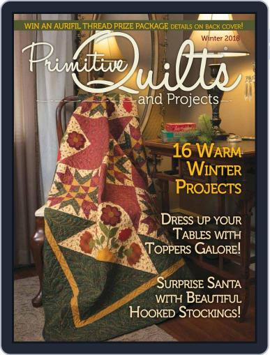 Primitive Quilts And Projects (Digital) September 26th, 2018 Issue Cover