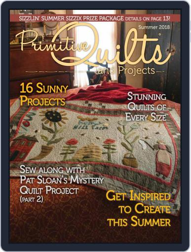 Primitive Quilts And Projects (Digital) March 25th, 2018 Issue Cover