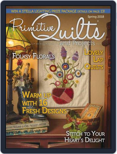 Primitive Quilts And Projects (Digital) February 12th, 2018 Issue Cover