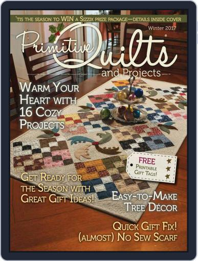 Primitive Quilts And Projects (Digital) October 1st, 2017 Issue Cover