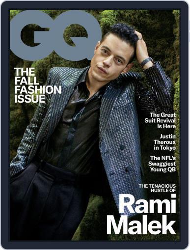 GQ (Digital) September 1st, 2019 Issue Cover