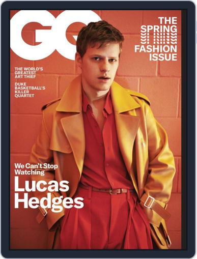 GQ (Digital) March 1st, 2019 Issue Cover