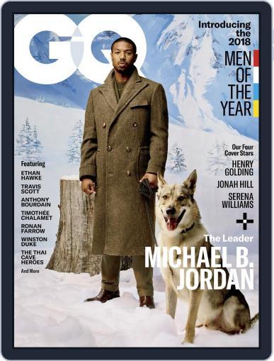 GQ (Digital) December 1st, 2018 Issue Cover
