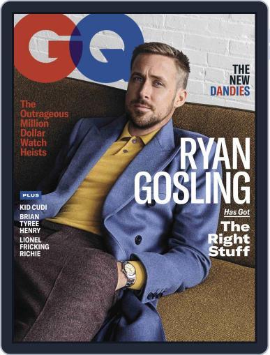 GQ (Digital) November 1st, 2018 Issue Cover