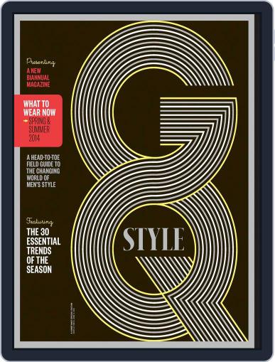 GQ (Digital) April 8th, 2014 Issue Cover