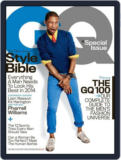 GQ (Digital) March 25th, 2014 Issue Cover