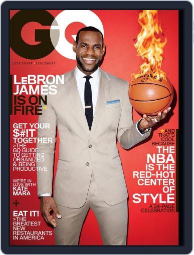 GQ (Digital) February 18th, 2014 Issue Cover