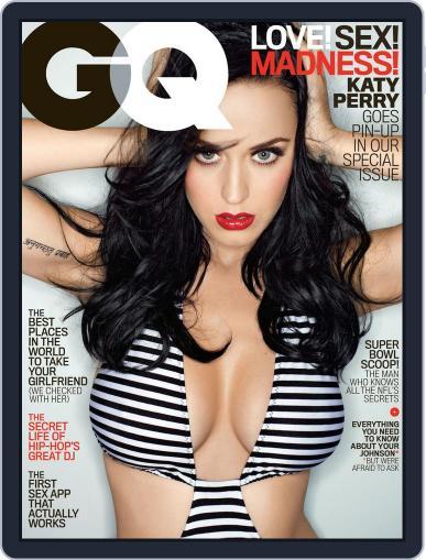 GQ (Digital) February 10th, 2014 Issue Cover