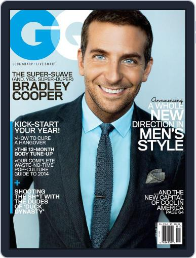 GQ (Digital) December 17th, 2013 Issue Cover