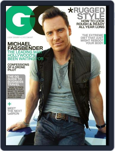 GQ (Digital) October 15th, 2013 Issue Cover