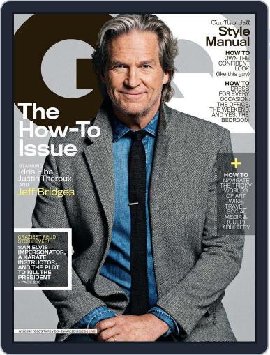 GQ (Digital) September 17th, 2013 Issue Cover