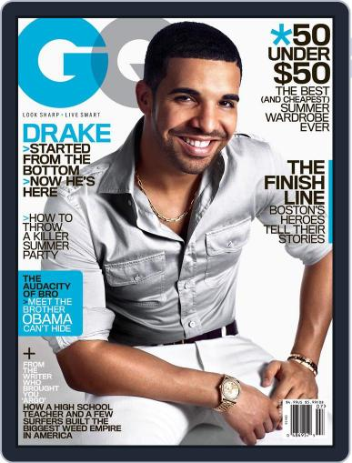 GQ (Digital) June 25th, 2013 Issue Cover