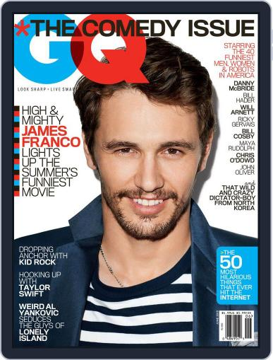 GQ (Digital) May 22nd, 2013 Issue Cover