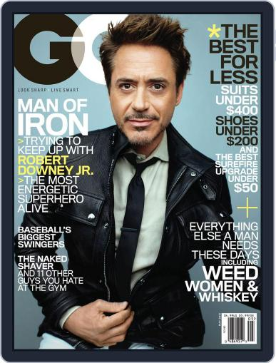 GQ (Digital) April 23rd, 2013 Issue Cover