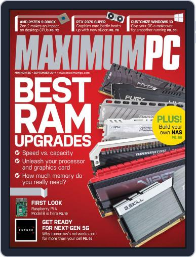 Maximum PC September 1st, 2019 Digital Back Issue Cover