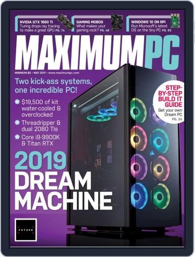 Maximum PC May 1st, 2019 Digital Back Issue Cover