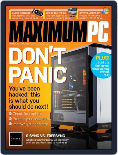 Maximum PC April 1st, 2019 Digital Back Issue Cover
