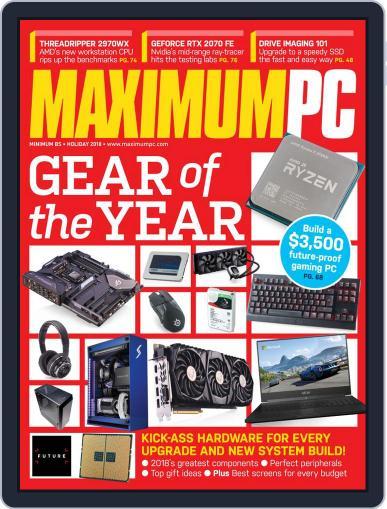 Maximum PC November 11th, 2018 Digital Back Issue Cover