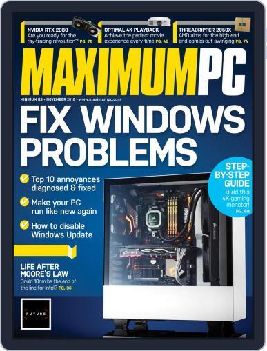 Maximum PC November 1st, 2018 Digital Back Issue Cover