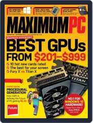 Maximum PC (Digital) Subscription September 21st, 2015 Issue