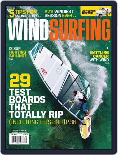 Windsurfing (Digital) May 14th, 2011 Issue Cover