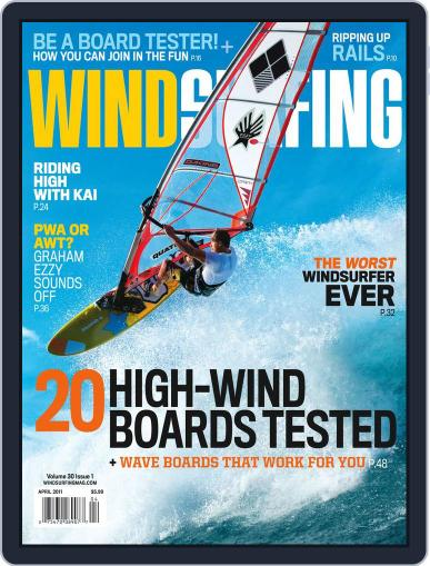 Windsurfing (Digital) February 26th, 2011 Issue Cover