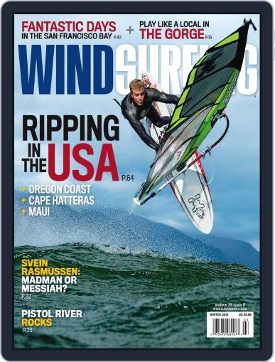 Windsurfing (Digital) August 28th, 2010 Issue Cover