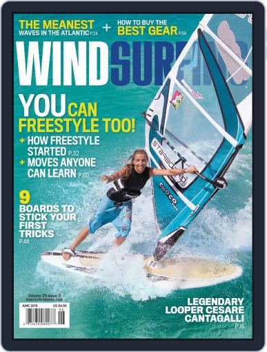 Windsurfing (Digital) May 17th, 2010 Issue Cover