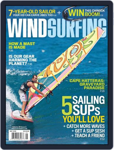 Windsurfing (Digital) April 3rd, 2010 Issue Cover