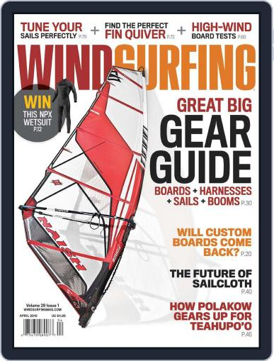 Windsurfing (Digital) January 30th, 2010 Issue Cover