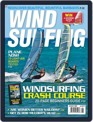 Windsurfing (Digital) July 1st, 2009 Issue Cover