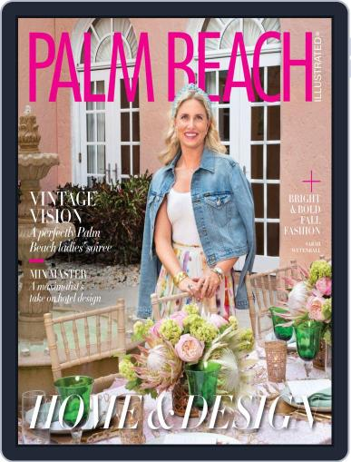 Palm Beach Illustrated (Digital) October 1st, 2019 Issue Cover