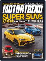 MotorTrend (Digital) Subscription November 1st, 2019 Issue