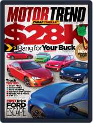 MotorTrend (Digital) Subscription May 29th, 2012 Issue