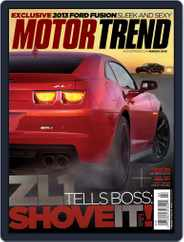 MotorTrend (Digital) Subscription January 31st, 2012 Issue