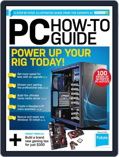 Maximum PC Specials March 1st, 2017 Digital Back Issue Cover