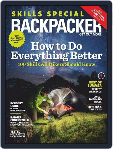 Backpacker July 1st, 2019 Digital Back Issue Cover