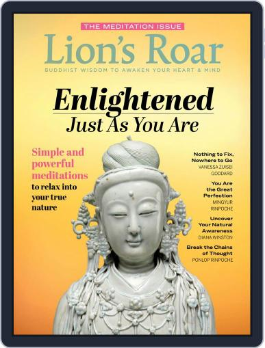 Lion's Roar March 1st, 2020 Digital Back Issue Cover