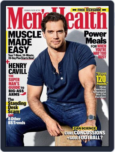 Men's Health December 1st, 2019 Digital Back Issue Cover