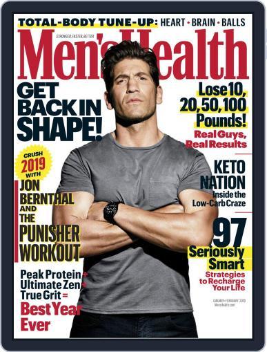 Men's Health January 1st, 2019 Digital Back Issue Cover
