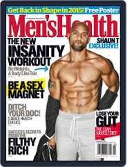 Men's Health (Digital) Subscription February 1st, 2015 Issue